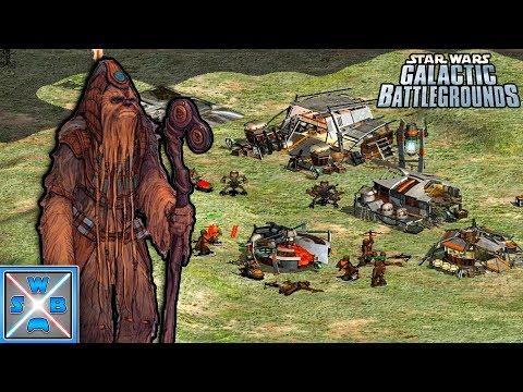 Chewbaccas Vater Gegen Die Handelsföderation! - Lets Play Star Wars Galactic Battlegrounds #1