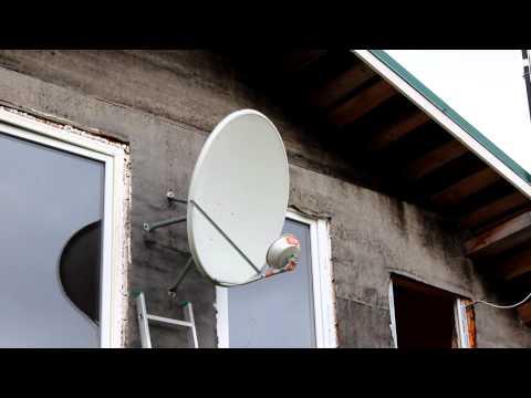 Антенна Yota своими руками из Спутниковой антенны