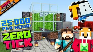 Zero Tick Sugarcane Farm | Truly Bedrock [1-31] | Minecraft Bedrock Edition SMP (MCBE)