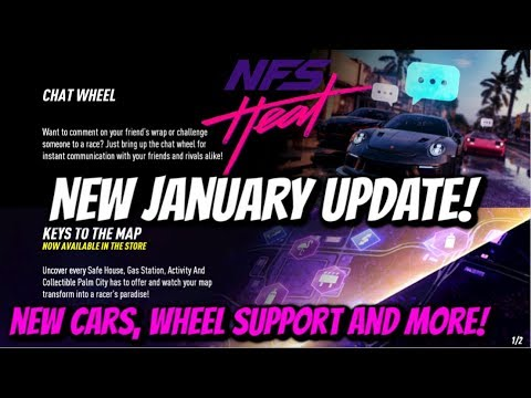 Need For Speed Heat All New January Update Improvements Changes