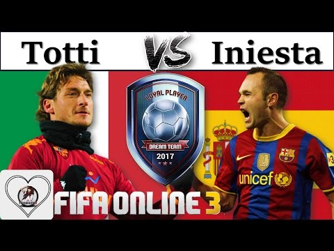 I Love FO3 | Review So Sánh Francesco Totti LP Vs Andres Iniesta LP: Đi Tìm Best CAM Loyal Player