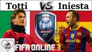 i love fo3   review so snh francesco totti lp vs andres iniesta lp đi tm best cam loyal player