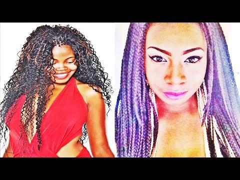 African American Latest Micro Braids Hairstyles For Women