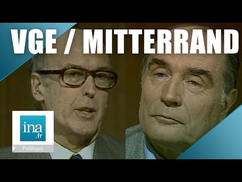 Débat 5 mai 1981 :Valéry Giscard d'Estaing  / François Mitterrand | Archive  INA