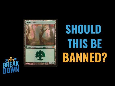 Should The Dryad Arbor from FTV: Realms be Banned?