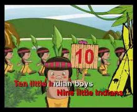 KEMAS:  ten little indian boys