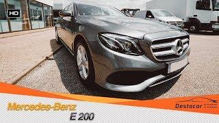 Осмотр Mercedes E200 /// Продал S320 W221