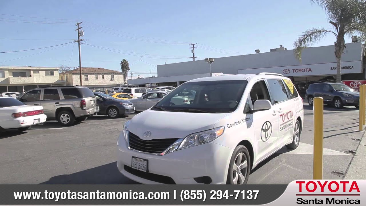Service Comfort Amenities Toyota Santa Monica An Lacarguy Dealership