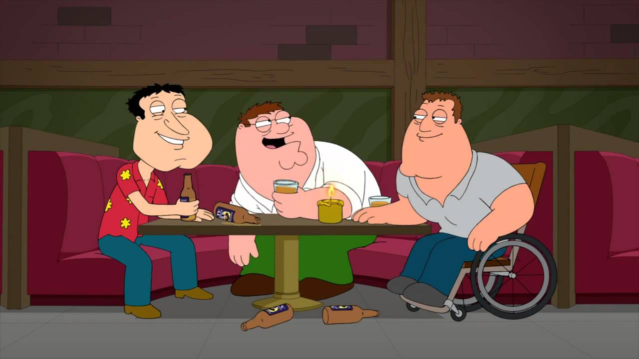 Family Guy - The Guys Drunk Talk - Youtube-8916