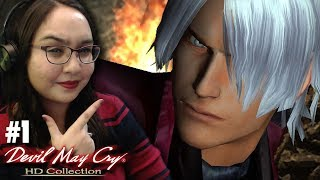 MY EDGY BOYFRIEND - Let's Play: Devil May Cry HD Collection PS4 Gameplay Walkthrough Part 1