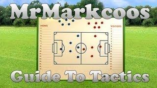 PES 2013 - Markcoos' Guide To Tactics Part 1 of 3
