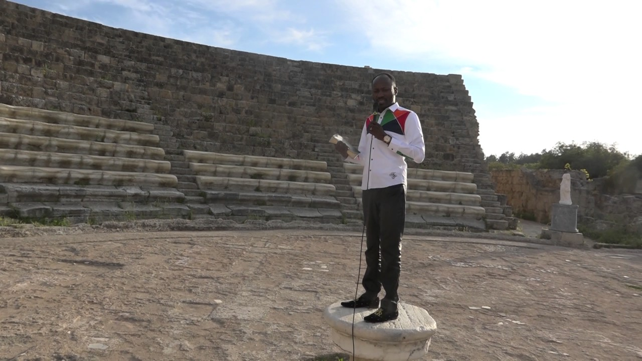 RARE: Apostle SULEMAN Stood on ANCIENT podium used by APOSTLE PAUL