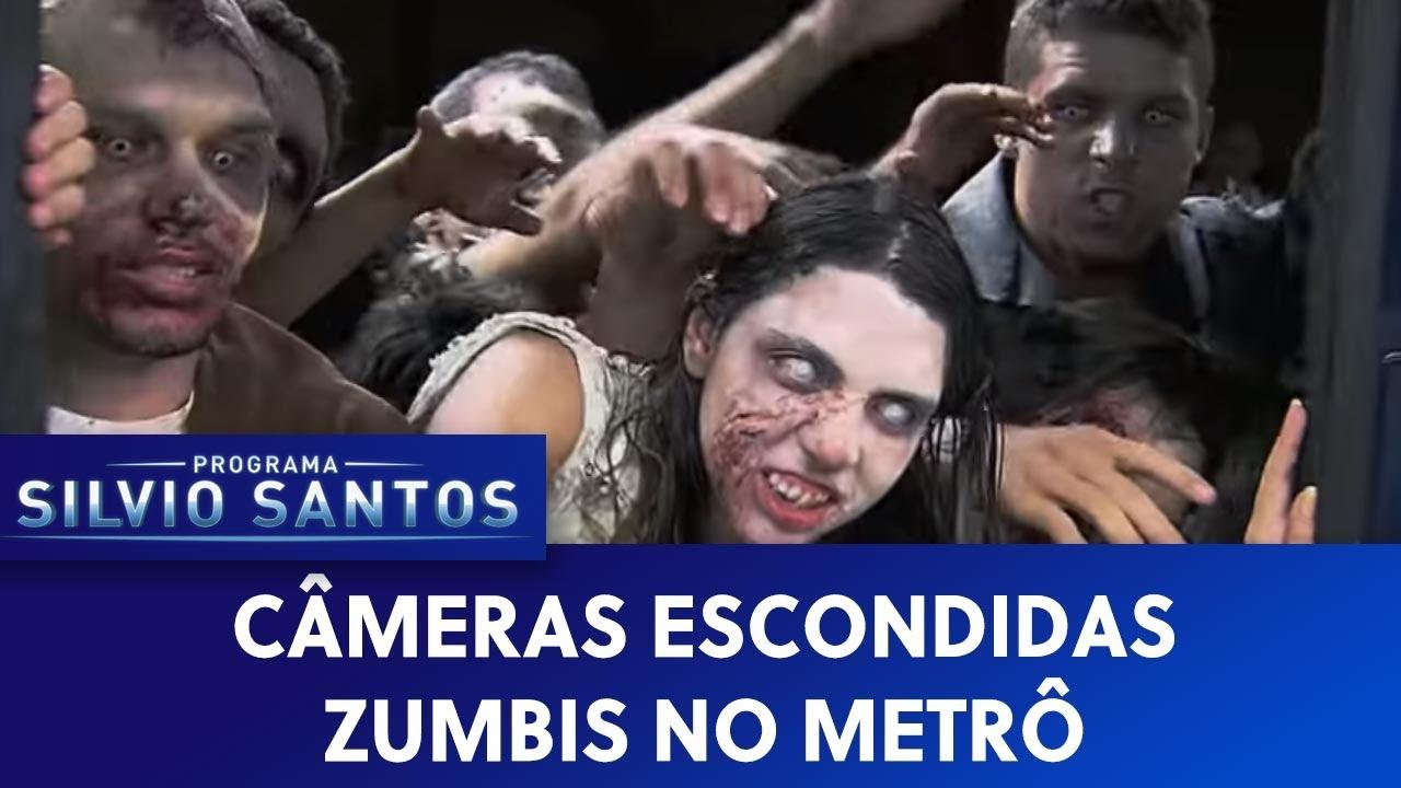 Zumbis no Metrô (Subway Zombie Prank) - Câmeras Escondidas (29/03/15)