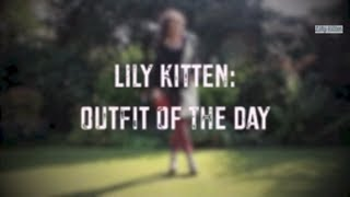 Lily Kitten: Outfit of the Day - Tartan Trousers & Maxi Coat Thumbnail