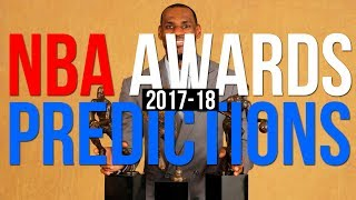 2017-18 NBA Award Predictions! | MVP, ROOKIE of the YEAR & MORE!