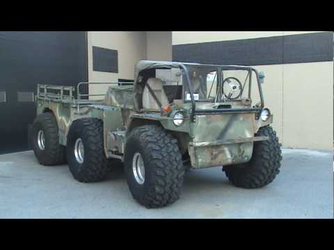 Drums For Sale >> Modified Amphibious Gama Goat - YouTube