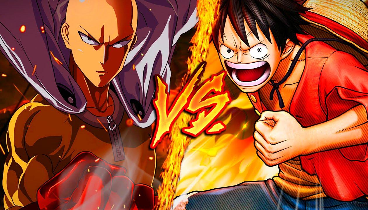 Eiichiro Oda, creador de la serie One Piece, reconoce que Luffy no tendria nada que hacer contra Saitama.