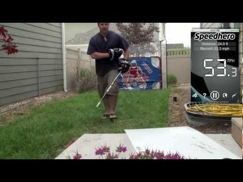 9  Awesome Radar Gun App for Hockey Shots! - YouTube