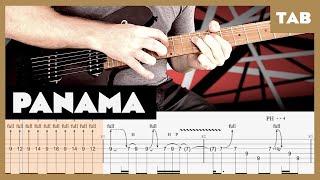 Panama Van Halen Cover   Guitar Tab   Lesson   Tutorial
