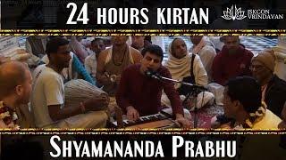 Iskcon Vrindavan 24 Hours Kirtan (Shyamananda Prabhu)