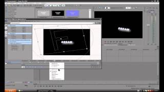 видеоурок Sony Vegas Pro 10 Туториал 2  Анимации