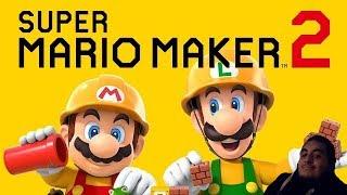 Super Mario Maker 2 Nintendo Switch Stream