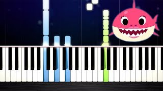 Baby Shark Song - Piano Tutorial by PlutaX
