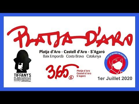 CATALOGNE 2020.Part 03.  PLATJA D'ARO.(Hd 1080)