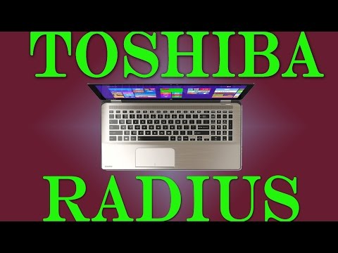 Toshiba Radius P55W Disassembly and Keyboard Replacement