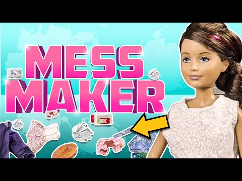 Barbie - Skipper the Mess Maker