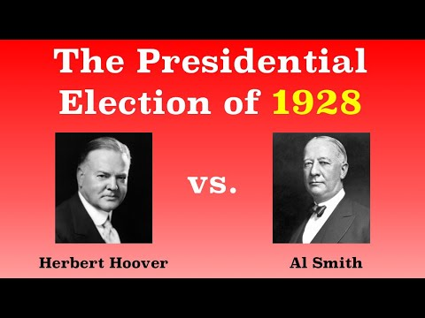 The American Presidential Election of 1928