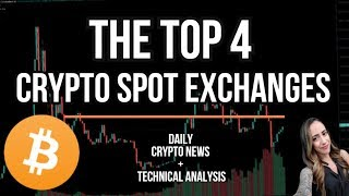 THE TOP 4 CRYPTO SPOT EXCHANGES WITH THE CHEAPEST FEES - NASCAR VIEWERS SEE BITCOIN