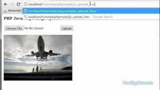 PHP Programming Tutorial - PHP Javascript Image Uploading Tutorial
