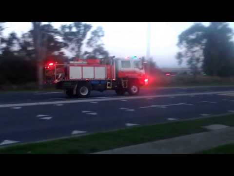 RFS Eastern Creek 1 responding followed by FRNSW SEV PUMP (97)