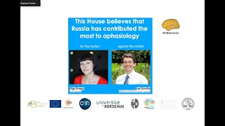 This house believes Russia has contributed the most to Aphasiology (Olga Dragoy/ Leo Bonilha)-uncut