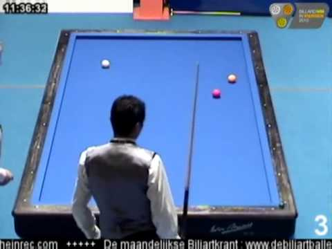 WORLD CHAMPIONSHIP THREE CUSHION FOR NATIONAL TEAMS www.billarcolombiano.com SERIE DE 15