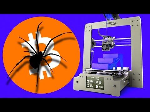 Aldi Cheap $499 3D Printer Vs Bitcoin & Surprise Spider