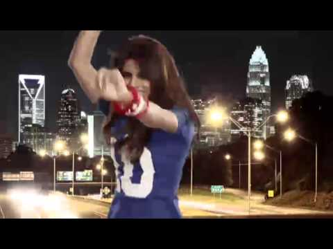 In My City - Priyanka Chopra rocks the latest NFL video   Giants vs Panthers ,Week 3