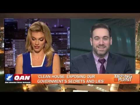 Christopher Malagisi Interviewed on OANN About Latest Books and Movies