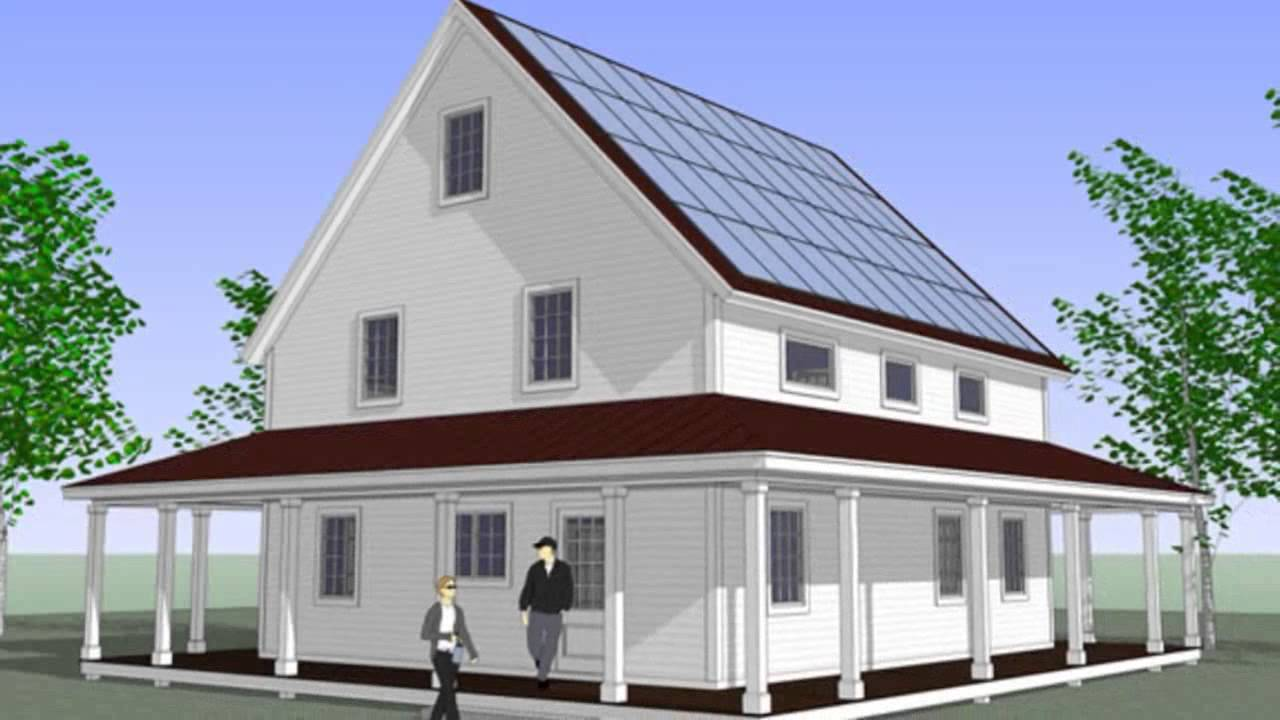 Prefab smarthomze are affordable net zero energy kits for for Netzero home plans