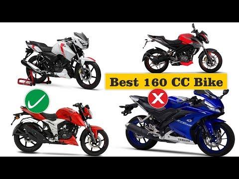 BEST 160CC Bikes In India 2019, Apache RTR 160 4V, Pulsar 160 NS, Honda XBlade, Hornet
