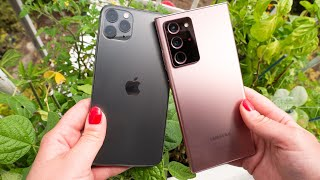 iPhone 11 Pro Max vs. Galaxy Note 20 Ultra camera comparison
