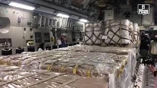 EEUU envía desde Miami aviones militares con ayuda humanitaria para Venezuela