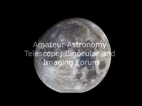 Amateur Astronomy - Telescope, Binocular and Imaging Forum January Project Lunar Photography