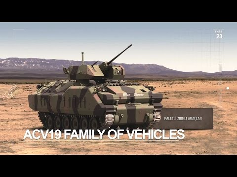 FNSS Defence Systems - Products Presentation [1080p]