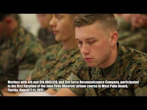 Reserve Marines Complete First Joint Fire Observer Primer Course