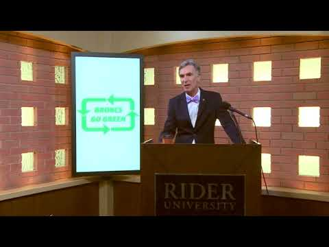 Bill Nye at Rider University