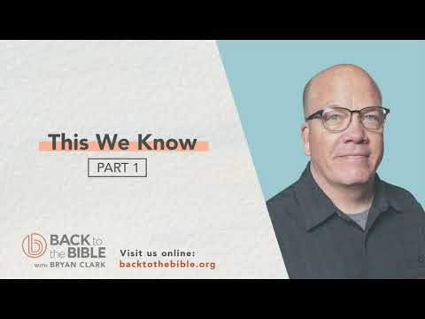 Authentic Christian Community - This We Know Pt. 1 - 19 of 20