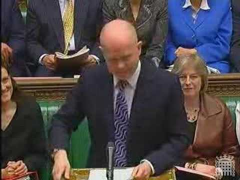 Lively clashes at PMQs — Harman vs. Hague