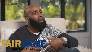 Randy Moss is the GOAT over Jerry Rice according to DeAngelo Hall | FAIR GAME